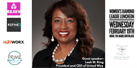 February Diamond League Lunch with Leah King tickets