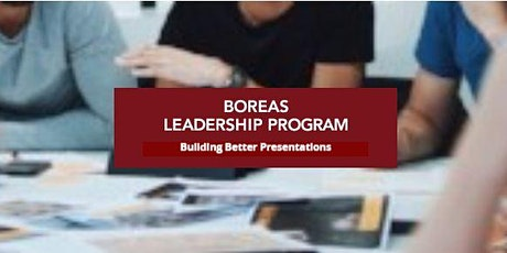 Boreas Workshop: Building Better Presentations tickets