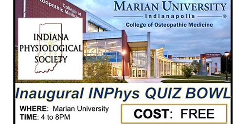 IN-Physiological Society Quiz Bowl