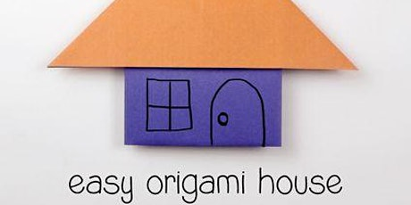 Origami Houses with free gym time tickets