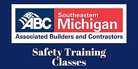 ABC SEMI OSHA 30 Training tickets