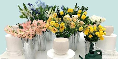 Fresh Flower Arranging - Centerpiece Arrangement Class tickets