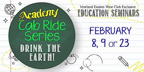 """""""Academy"""" Cab Ride Series - drink the earth tickets"""
