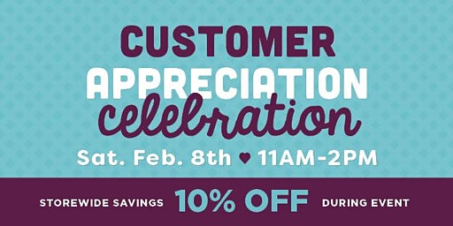 Customer Appreciation Celebration - Bradley Fair