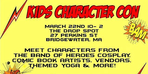 Kid's Character Con