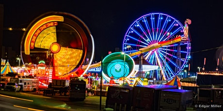 Photographing Carnival Rides at the Fort Worth Stock Show and Rodeo tickets