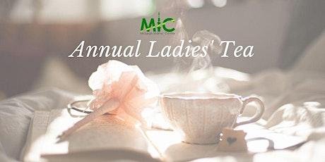 Annual Ladies' Tea tickets