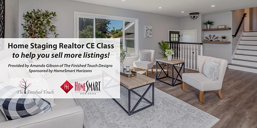 FREE Home Staging Realtor CE Class to Help You Sell More Listings