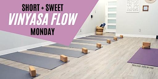 Vinyasa Flow Yoga Monday Open House