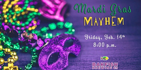 Mardi Gras Mayhem- Murder Mystery Dinner tickets
