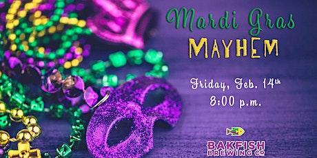 Mardi Gras Mayhem- Murder Mystery Dinner tickets