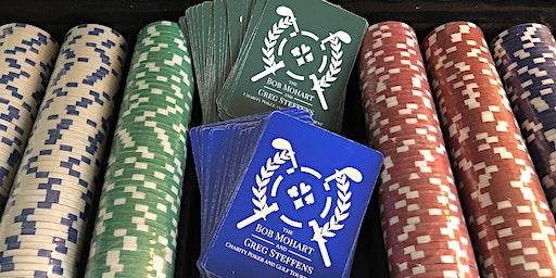 Bob Mohart and Greg Steffens Charity Poker Tournament