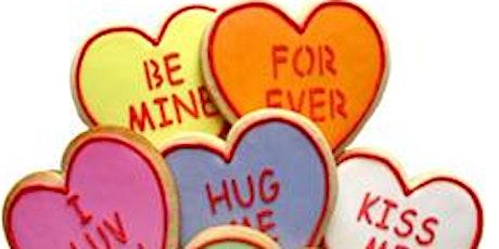 Valentine Cookie Decorating Class tickets