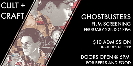 Cult + Craft: Ghostbusters tickets