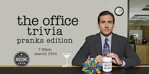The Office Trivia - March 23, 7:30pm - Hudsons Saskatoon