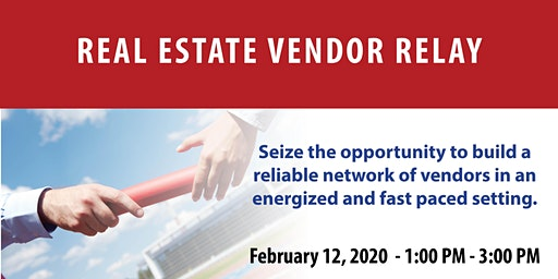 Real Estate Vendor Relay (Not for CE Credit)