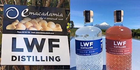 Valentines weekend - Behind the Scenes LWF Distilling & emacadamia factory tickets