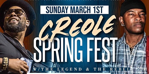 Creole Spring Fest with Chris  Ardoin and J.Paul Jr.