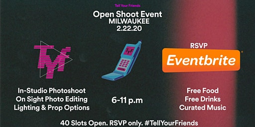 Tell Your Friends // Open Shoot Event