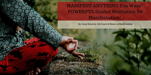 MANIFEST ANYTHING You Want! POWERFUL Guided Meditation for Manifestation!