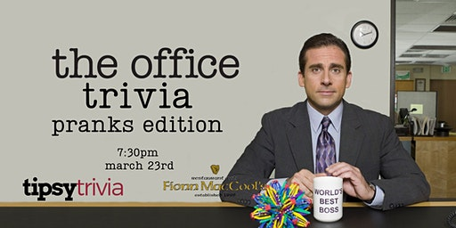 The Office Trivia - March 23, 7:30pm - Guelph Fionn MacCool's