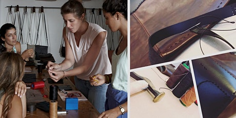 Leather Workshop : Make your own tote bag (Sat. 07/03) tickets