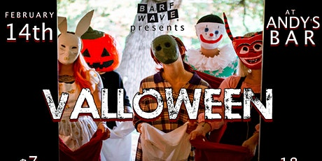 Barf Wave Presents: Valloween @ Andy's Bar (Venue) tickets