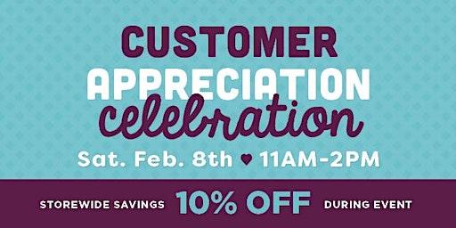 Customer Appreciation Celebration - Clear Lakes