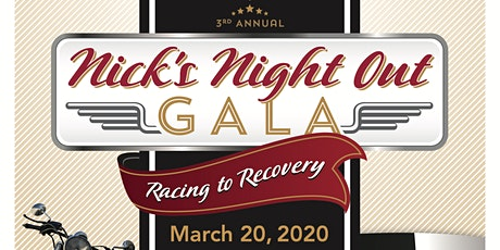Nick's Night Out Gala tickets