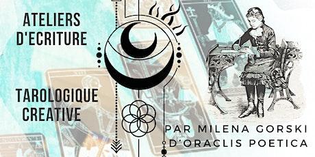 Reporté / Atelier d'Ecriture Créative et Tarologique billets