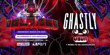 Voltage ft. Ghastly & Ubur (Ages 18+) tickets