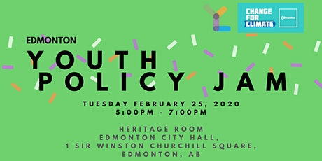 Youth Policy Jam: Edmonton tickets