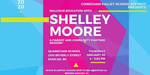 Shelley Moore Talks Inclusion