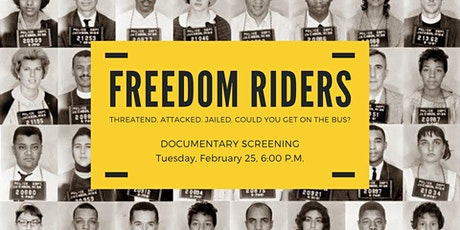 """Freedom Riders"" Documentary Screening tickets"