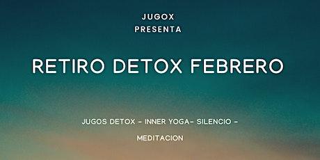 Retiro Detox Febrero entradas