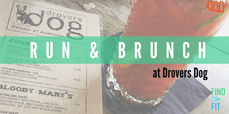 Run & Brunch at Drovers Dog tickets