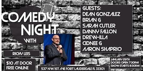 """Comedy Night with """"Richy Leis"""" at Next Door at C&I tickets"""