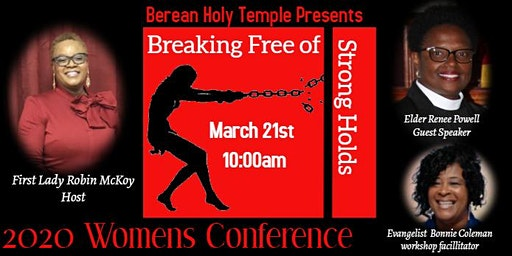 BEREAN HOLY TEMPLE 2020 WOMENS CONFERENCE