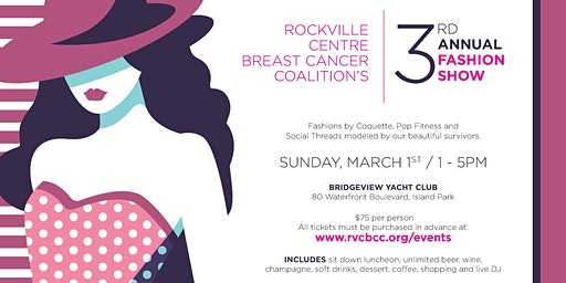 RVCBCC Third Annual Fashion Show