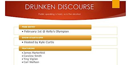 Drunken Discourse tickets