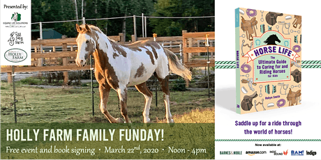Holly Farm Family Funday! Free Event and Book Signing tickets