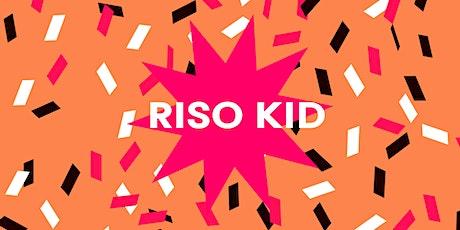 Risography for kids billets