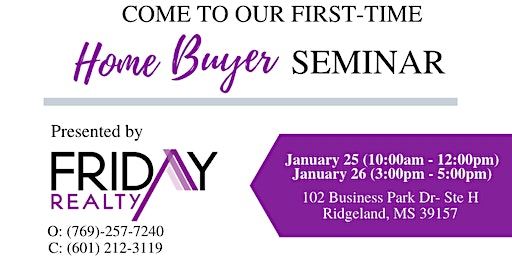 Home Buying Experience Seminar