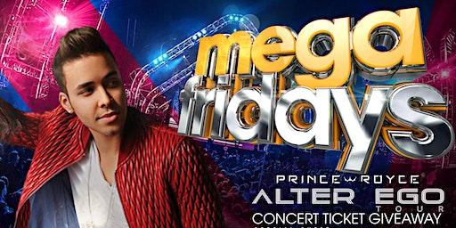 Prince Royce Ticket Giveaway Party - Latin Fridays at La Revo