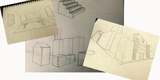 Basic 1, 2, & 3 Point Perspective Drawing