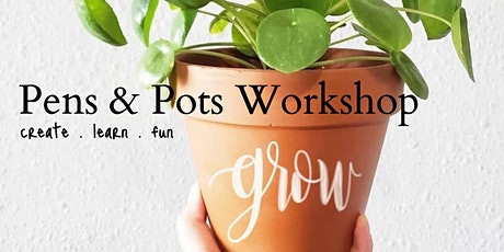 Pens & Plants Workshop tickets