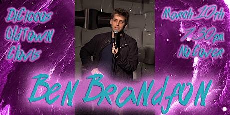 Just The Tips Tuesday Headlining Ben Brandfon Comedy Show+Open Mic tickets