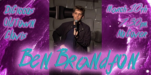 Just The Tips Tuesday Headlining Ben Brandfon Comedy Show+Open Mic
