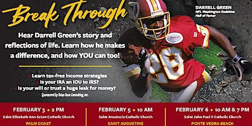 BREAKTHROUGH   Former NFL Great Darrell Green's Story