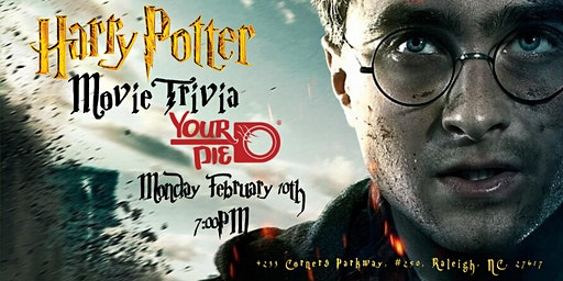 Harry Potter Movies Trivia at Your Pie Brier Creek